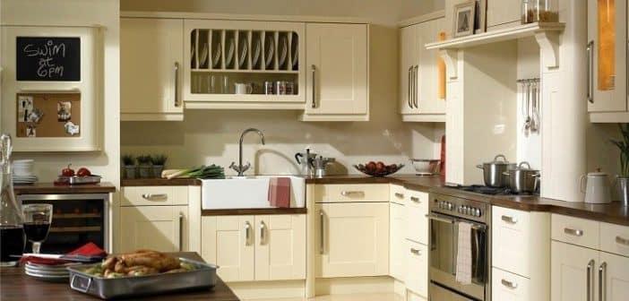 Quelle couleur de mur avec une cuisine à la vanille?